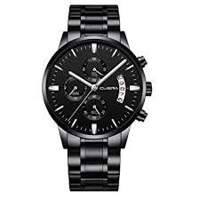 cuena quartz watches males simple luxury stainless steel 3atm waterproof dress watch fashion style men gift