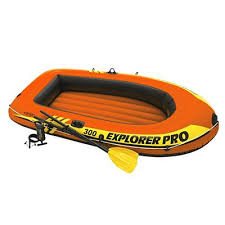 <b>Лодка</b> надувная <b>INTEX Explorer 300</b>, 211x117x41 см, до 186 кг ...