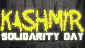 Image result for kashmir day