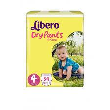 <b>Libero Подгузники-трусики Dry</b> Pants Size 4 (7-11кг), 54 шт ...