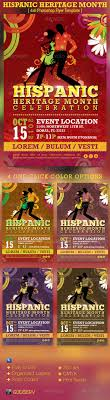 hispanic heritage month event flyer template festivals mardi hispanic heritage month event flyer template 6 00