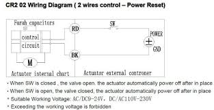 dn ac dc v wires normal open valve tf b c full port electric flow control valve indicator jpg wiring diagram for motor operated valve wiring 800 x 413
