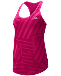 Deals on New Balance Women's <b>Printed Accelerate Tank V2</b> Pink ...