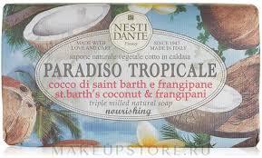 Nesti Dante <b>Paradiso Tropicale St</b>. Barths Coconut & Frangipane <b>Soap</b>