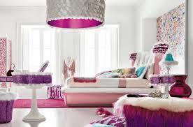 interesting bright purple color walls in teenage bedroom with purple bedroom ideas also pendant bedroom lighting amusing white bedroom design fur rug
