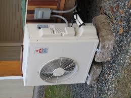 Mitsubishi Ductless Heat Pump Heating With A Minisplit Heat Pump Greenbuildingadvisorcom