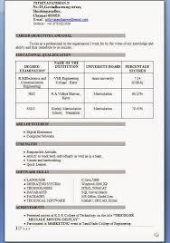 Mechanical Engineering Resume Sample Aerospace Engineering Resume     Brefash resume format freshers engineers pdf download tech eee fresher