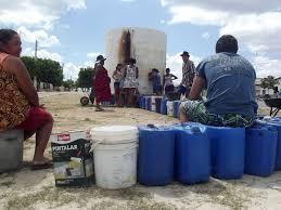 Resultado de imagem para falta d'água em lajes rn