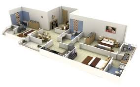 bedroom apartment house plan images  images about  three  bedroom apartment house plans on pinterest house