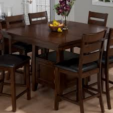 Kitchen Tables With Storage Counter Height Kitchen Tables With Storage Taylor 7 Piece