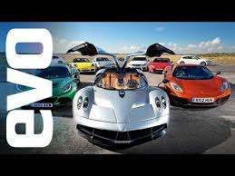 evo Car of the Year 2012 - feat. Pagani Huayra v McLaren and more ...
