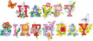 Bildergebnis für happy birthday japanische schriftzeichen