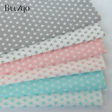 2019 50*160cm Printed Stars <b>Baby Cotton Twill Fabric</b> For DIY ...