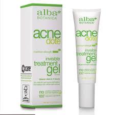 Alba Botanica <b>Acnedote</b> Maximum Strength <b>Invisible</b> Treatment Gel ...