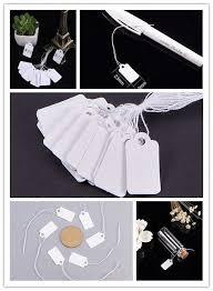 PandaHall Elite <b>1000Pcs</b>/Bag Rectangle <b>Blank</b> Jewelry Display ...
