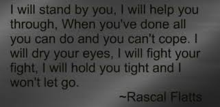 Image result for i won't let go lyrics rascal flatts