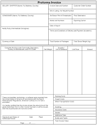 invoice template pro forma template excel proforma invoice pro forma template excel proforma invoice template word