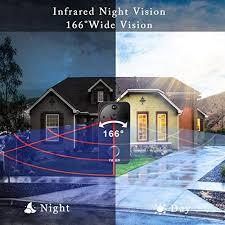 Smart <b>Wireless Video</b> Doorbell, Security <b>WiFi Doorbell 1080P HD</b> ...