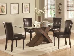 Black Leather Dining Room Chairs Leather Parsons Dining Room Chairs On Bestdecorco
