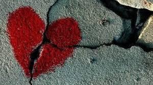 Resultado de imagem para imagens de corações partidos