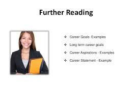 career goals sample Achieve career goals ... Gaining Expertise; 5. Further Reading ï ¶ Career