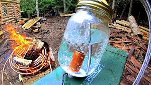 Off Grid Heating- Copper Coil <b>Water Heater</b> / <b>Heat Exchanger</b> ...