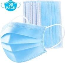50PCS <b>Protective</b> Cover Mouth <b>Mask</b> Face <b>Safety</b> Mouth Cover 3 ...