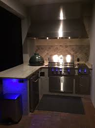 outdoor kitchen stone work1446 ambient kitchen lighting