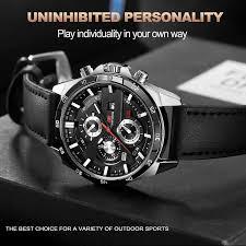 Men'S Casual Sports Waterproof Watch <b>VAVA VOOM</b> Business ...