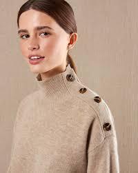 Свитер с застежкой на плече в интернет-магазине — <b>12Storeez</b>