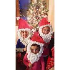 Paper plate <b>Santa face masks</b>! | Christmas party crafts, Kids ...
