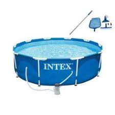 <b>Intex</b> Metal FramePiscine démontable Sans épurateur 305 x 76 cm ...