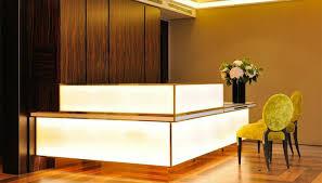 luxury hotel reception desk boutique reception counter