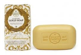 Купить <b>Мыло</b> кусковое Nesti Dante <b>60th Anniversary Luxury</b> Gold ...
