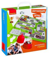 <b>Настольная игра BONDIBON</b> Гонки ВВ2421 — купить по ...