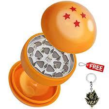 Four Stars Dragon Ball Herb Grinder 3 Layers Herb ... - Amazon.com