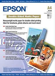 <b>Epson Double-Sided Matte Paper</b>