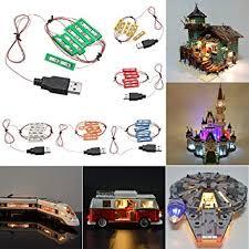 Buy <b>Universal DIY LED</b> Light Brick Kit for Lego MOC Toys USB Port ...