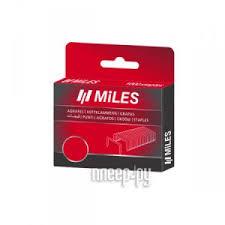 <b>Скобы</b> Miles тип 53 6мм <b>1000шт</b> N3-6mm