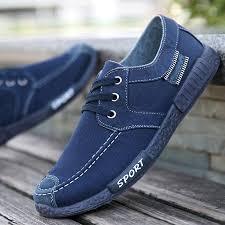 <b>Fashion Men's</b> Canvas Shoes Washed Casual <b>Men's</b> Shoes <b>Sports</b> ...