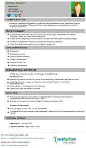 hr generalist resume sample cipanewsletter sample hr resume sample hr generalist resumes template hr