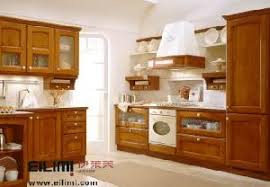 beech wood kitchen cabinets: export solid wood kitchen cabinet made in china