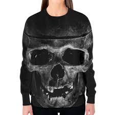 Заказать <b>свитшот женский с</b> полной запечаткой Skull #2596529 в ...