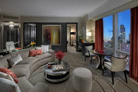 bathroom suite mandarin: suite with a view to central park in new york city