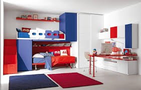 cool light blue and orange finish solid wood floating shelf on funky teenage bedroom ideas highlighting bedroomastonishing solid wood office
