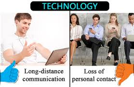 what is the impact of technology on our society  a critical analysiscommunication vs loss of personal contact due to technology