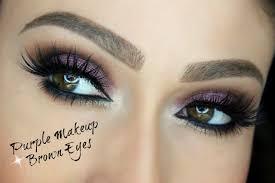 purple makeup for brown eyes eye makeup tutorial 2016 07 30