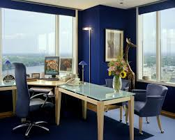 blue home offices home office and office workspace on pinterest blue home office