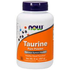 <b>Taurine Pure Powder</b> 227g - Now Foods - Nature's Fix