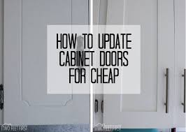 cheap kitchen cupboard: update cabinet doors to shaker style for cheap updating cabinets diydiy kitchen
